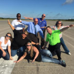 Chamber Board tours Kennedy Space Center in Titusville, FL.