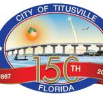 City of Titusville Turns 150 logo