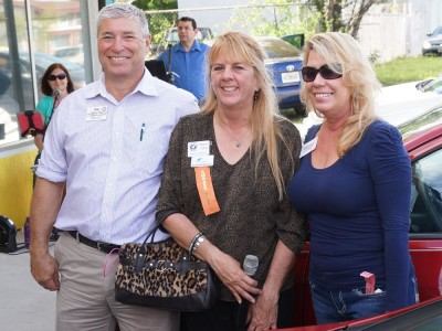 Representatives from Brevard Humane Society Chamber event