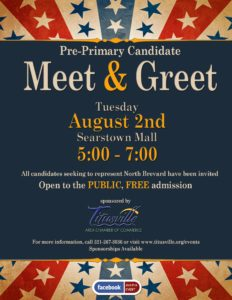 Pre primary candidate meet and greet titusville fl chamber of commerce 2016 pre primary meet greet flyer m4hsunfo