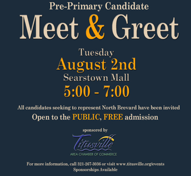 2016 Pre-Primary Candidate Meet and Greet image