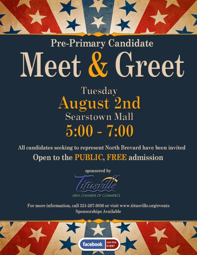 Pre Primary Candidate Meet And Greet Titusville Fl
