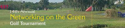 2016 Golf Tournament website banner ad