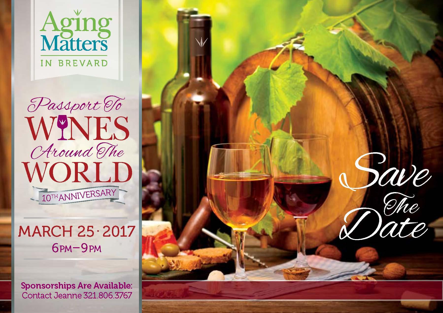 Passport To Wine Around The World Titusville Fl Chamber