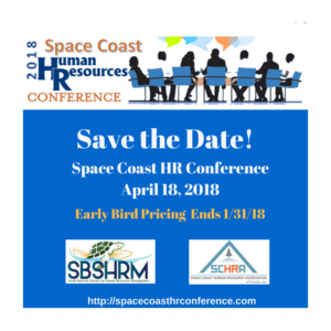 2018 Space Coast Human Resources Conference - Titusville FL