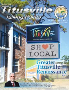 Titusville Talking Points (January 2018) update on city news titusville florida