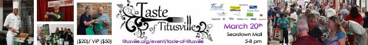 2018 Taste of Titusville Banner Ad