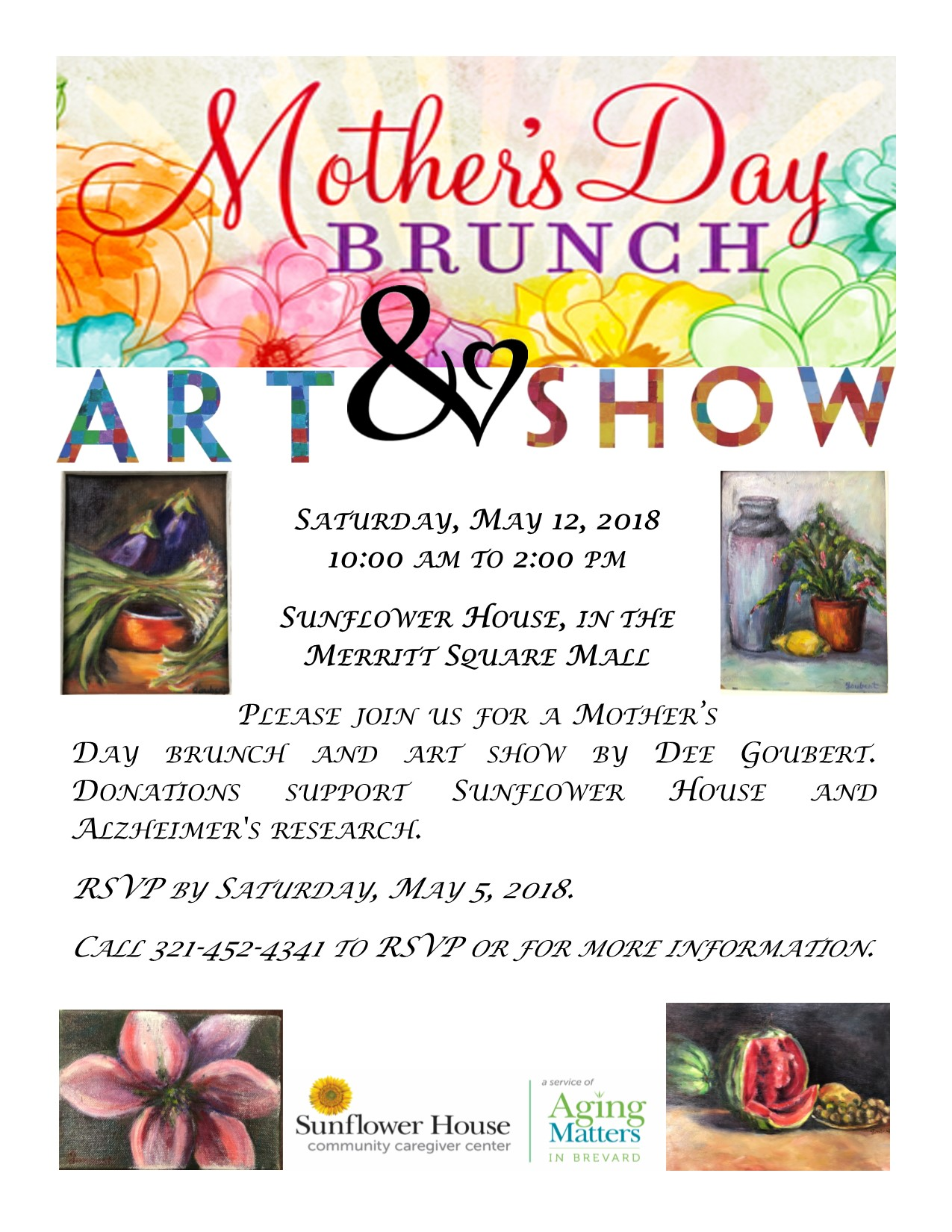 Mother\'s Day Brunch and Art Show - Titusville FL Chamber of Commerce