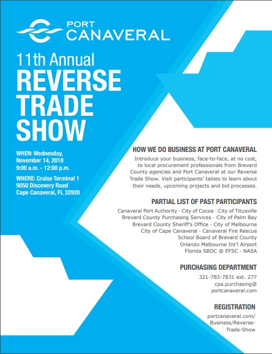 11th Annual Reverse Trade Show Titusville Fl Chamber Of Commerce