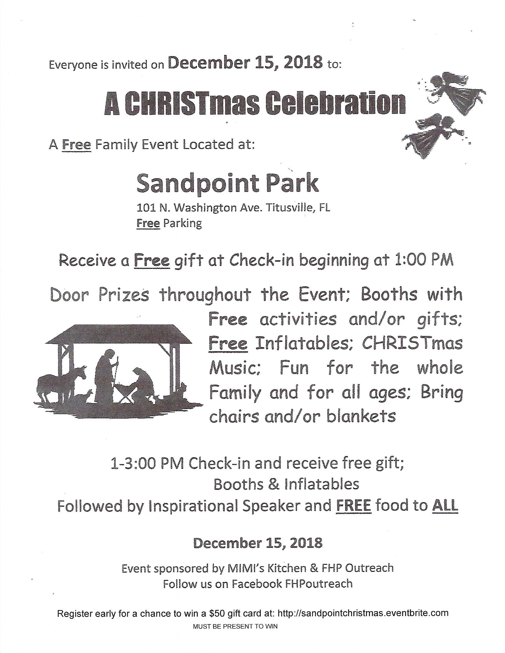 A CHRISTmas Celebration - Titusville FL Chamber of Commerce