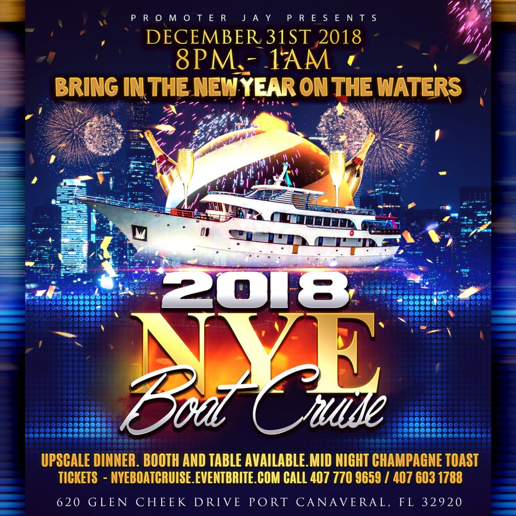 2018 New Years Eve Boat Cruise & Dinner